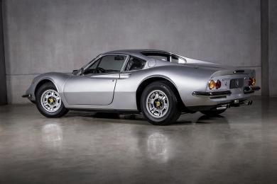 Ferrari Dino 246 Coupê Prata 1973