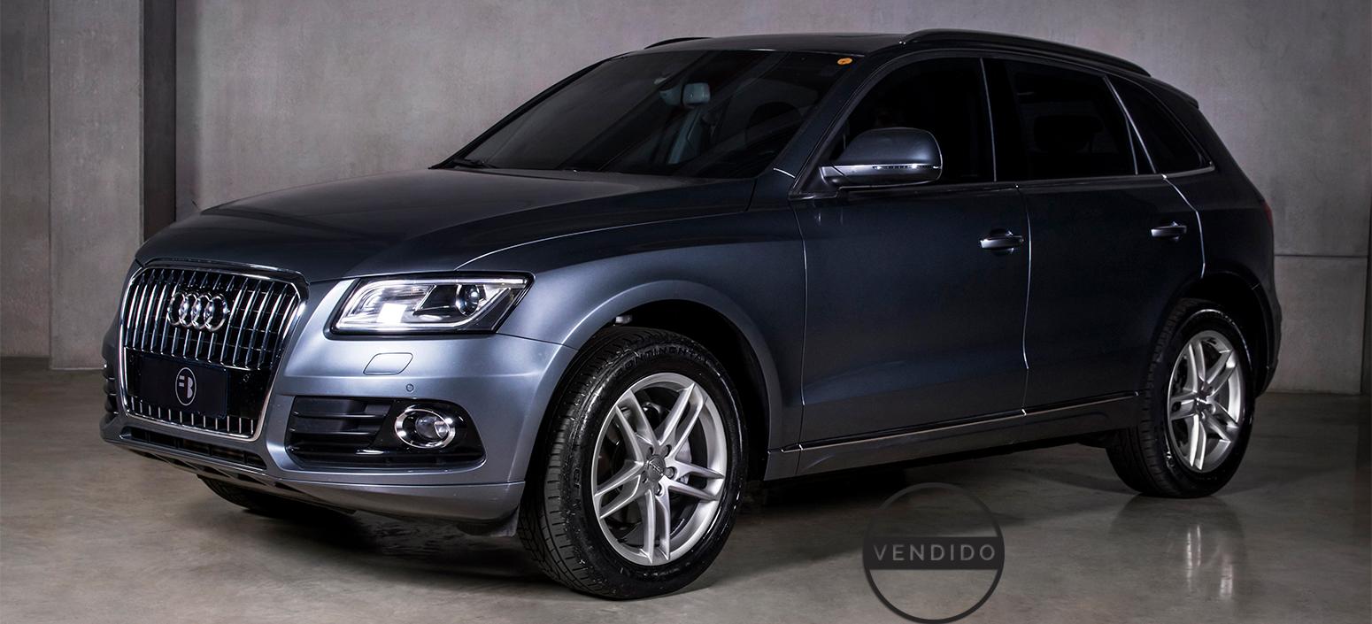 Audi Q5 Ambient Cinza 2015