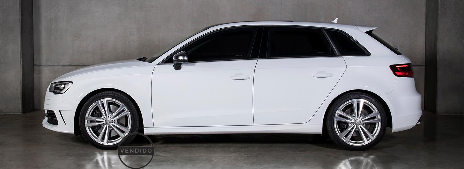 Audi S3 branco 2015