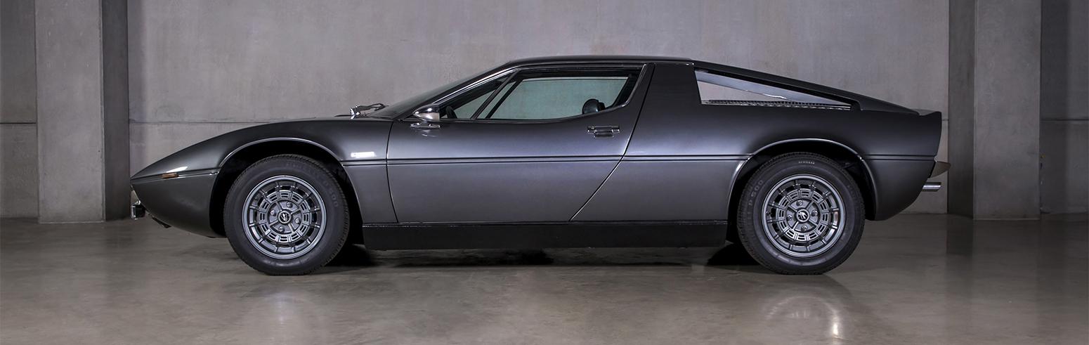 Maserati Merak Cinza 1974