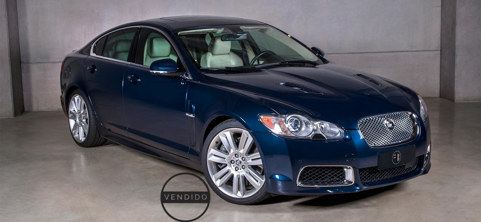 Jaguar XFR Azul 2010